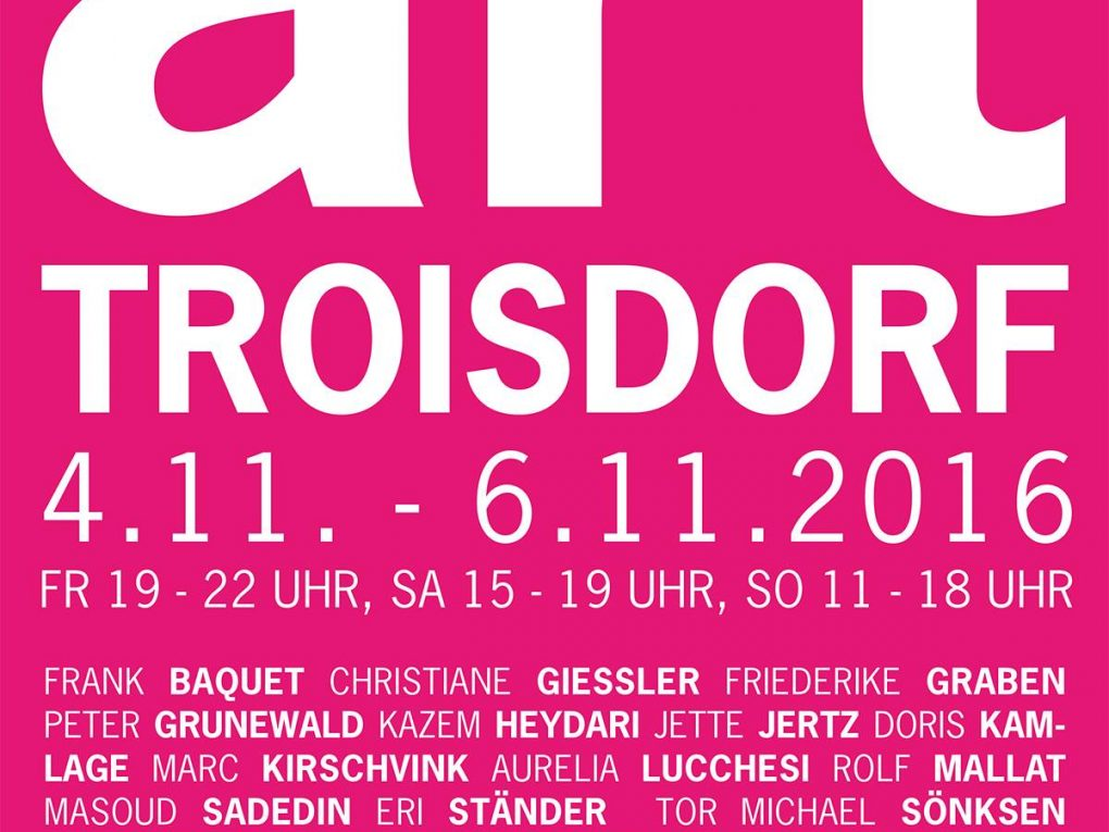 art Troisdorf vom 04. – 06. November 2016